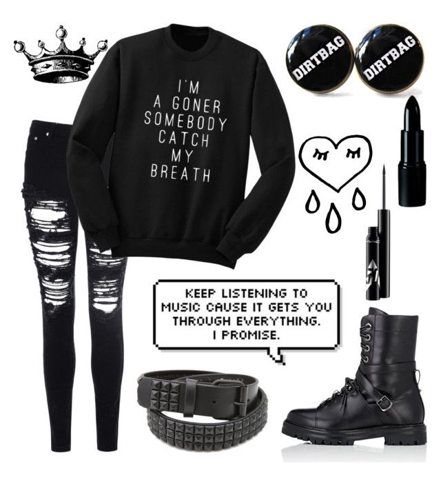 """It's been awhile"" by xxonyx-lightwaterxx ❤ liked on Polyvore featuring Glamorous, Valentino and Tokyo Rose"