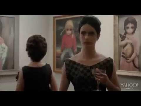"""Tim Burton's Margaret Keane biopic """"Big Eyes"""" trailer"""