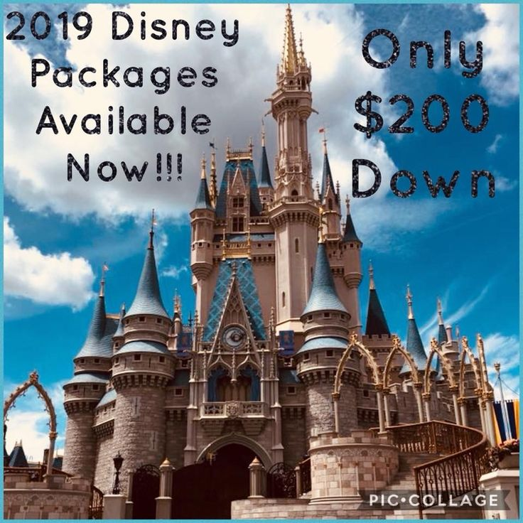 Book your 2019 Disney Vacation Today Only