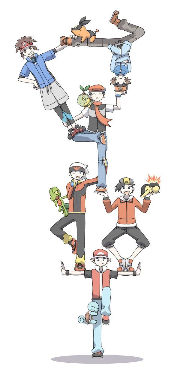 Pokemon - Male trainers