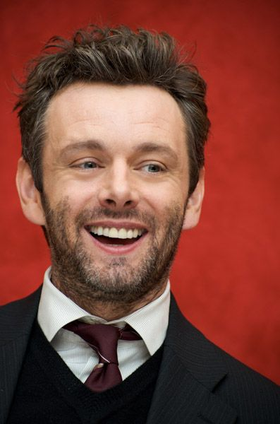 Michael Sheen and I are going to get married. And have beautiful children with mouse-like features. In sweater vests.