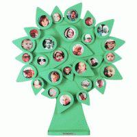 Stamboom met fotootjes, een leuke accessoires voor in huis!