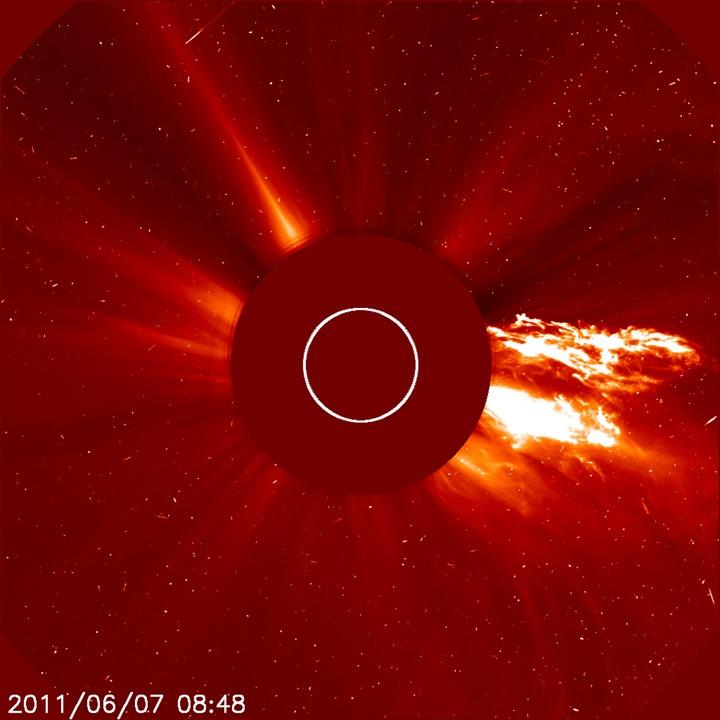 Solar Flare Eruption