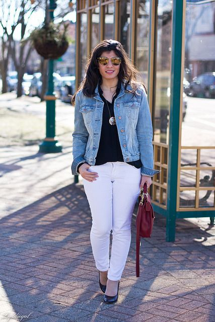602 best images about STYLING CLOTHES- Blazers and Denim Jackets ...