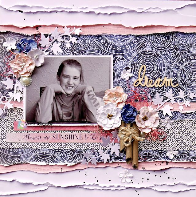 Tania's Creative Space: Shop and Crop Scrapbooking February DT Share