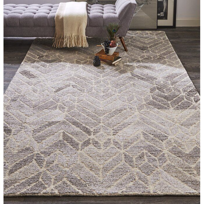 Chulmleigh Wool Gray Natural Area Rug Natural Area Rugs Area