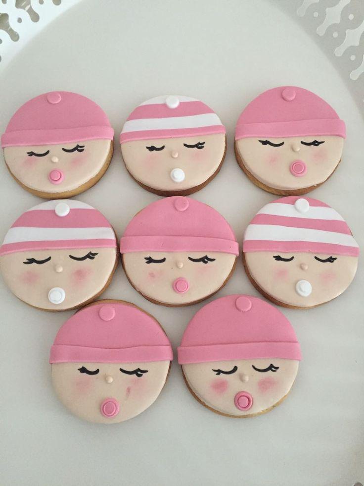 Babyshower cookies/ kız bebek kurabiyeleri