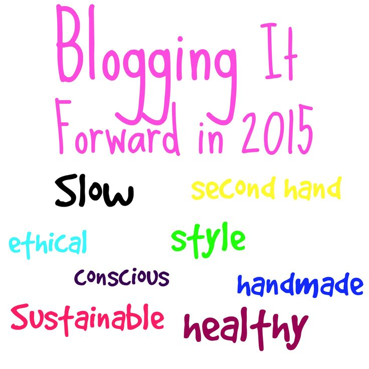 A round up of Ethical/ eco fashion posts for 2015!