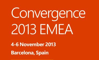 Microsoft Convergence 2013 EMEA in Barcelona | 4-6 Novemeber |  Here QGate will be attending and exhibiting at Booth #67, plus attending the official Launch of Microsoft Dynamics CRM 2013.