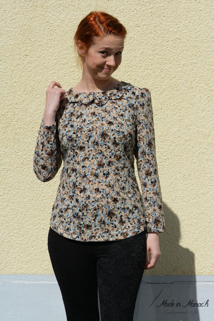 Sandy's Orla top - sewing pattern by Tilly and the Buttons