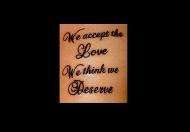 I will give you 10 awesome quotes for your new tattoo for $5 : Saronita123 - Gigbucks
