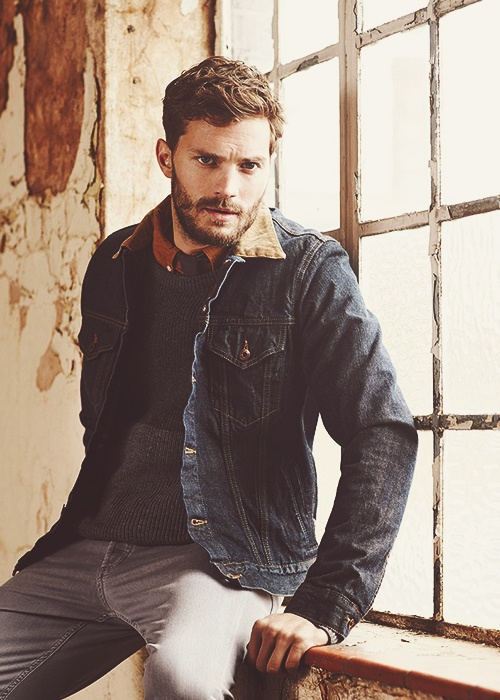 jamie dornan - The Huntsman from Once Upon a Time I was so devastated when they killed off his character he was awesome good actor that one