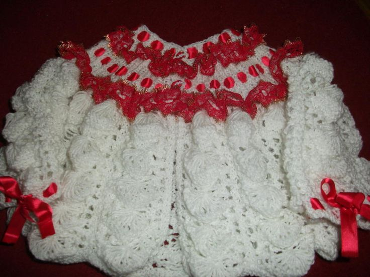 Christmas Shell Set - Knitting creation by mobilecrafts | Knit.Community