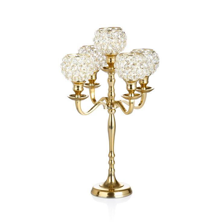 Bernardo Taşlı Şamdan / Candle Holder #bernardo #tealight #candle #mum #tabledesign