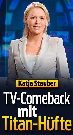Moderatorin Katja Stauber kehrt nach Hüft-Op zur Tagesschau zurück. Am 4. Juli musste sie sich ihre rechte Hüfte operieren lassen, bekam ein Titan-Gelenk. «Es ist zwar nur eine Routine-Operation. Doch was danach kommt, braucht einfach Zeit.» So hätten ihre letzten Monate primär aus Physiotherapie und ihrem Alltag an Stöcken bestanden.