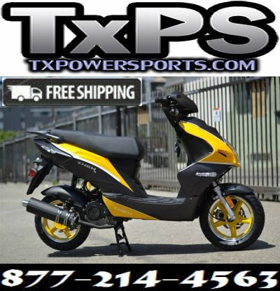 Amigo Znen 2017 F35-50 49cc Street Legal Scooter, 4 Stroke 8.5 HP Air Cooled Free Shipping Sale Price: $1,299.00