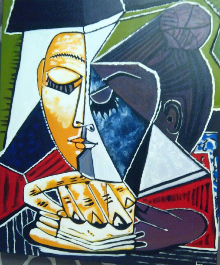 Versión a óleo. Picasso