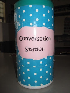 Mrs. O'Brien's Classroom Connections: Conversation Station: An Anytime Oral Language Activity