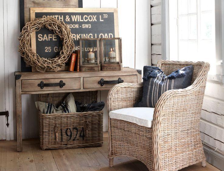 Vicky's Home: Como decorar con mimbre / How to decorate with wicker