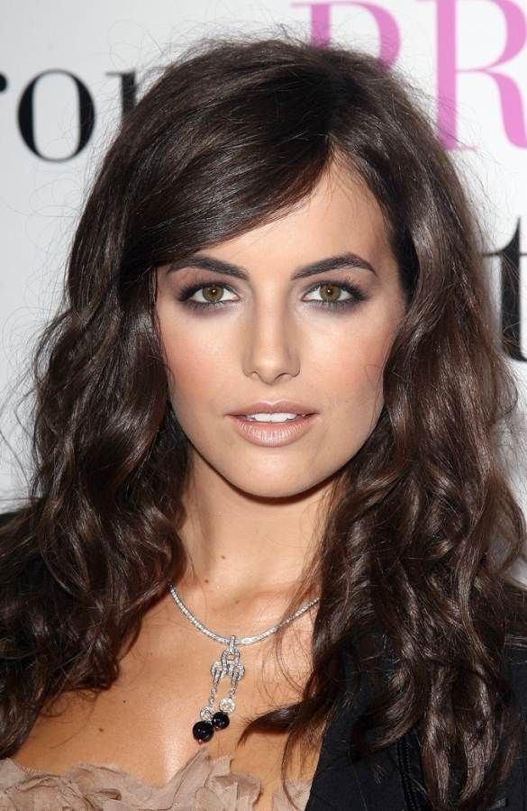 .and makeup: Hair Colors Ideas, Camilla Belle Makeup, Belle Bare, Photo Galleries, Hair And Makeup, Belle Hair, Green Eye, Smokey Eye Nude Lips, Camil Belle