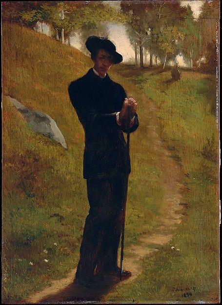 John La Farge (American, 1835–1910). Portrait of the Painter, 1859. The Metropolitan Museum of Art, New York. Samuel D. Lee Fund, 1934 (34.134)