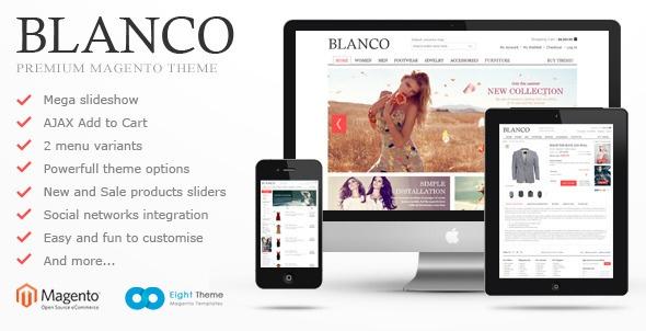 Blanco Magento Theme - ThemeForest Item for Sale