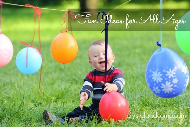 First Birthday Party Games And Activity Ideas