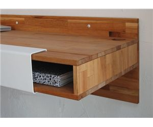 LAX Series Wall Mounted Desk With Storage Nooks Is Made Of Walnut. Shop For  Versatile Desks And Office Work Tables At Smart Furniture.