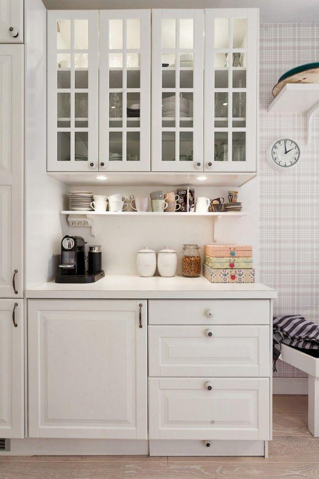 biała kuchnia, styl skandynawski