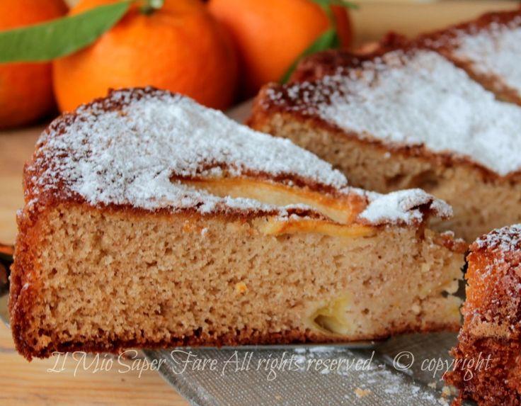 Torta grano saraceno mele e yogurt ricetta facile. Torta di mele senza burro con farina di grano saraceno che non contiene glutine, a basso indice glicemico