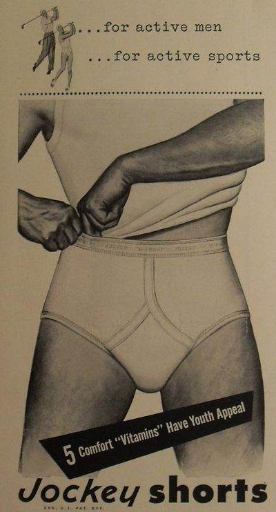 vintage under garment ads | Vintage ads for mens underwear - Found in Moms Basement