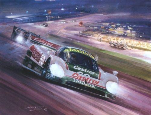 Charmant Jaguar At Daytona