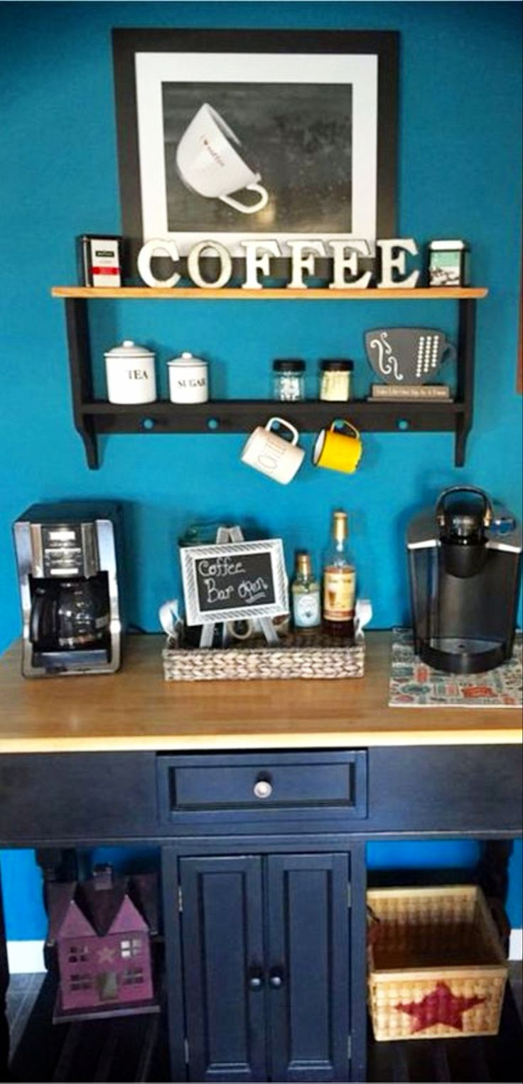 121 best Coffee Nook Ideas • images on Pinterest | Farm house styles ...