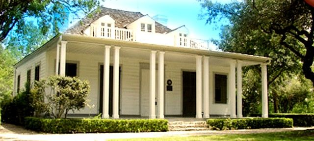 Visit Austin's Oldest House - The French Legation Museum began in 1841 as a private home built for the French chargé d'affaires, Alphonse Dubois.
