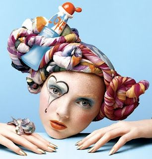 """""""Living Doll/ Broken Doll"""" fashion shoot theme, additional info unavailable"""