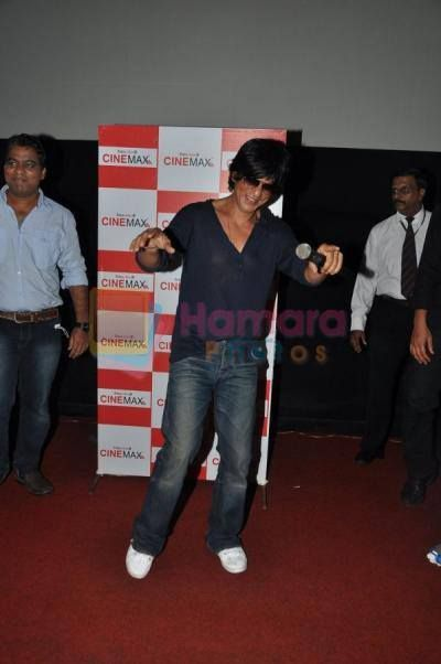 SRK at Versova Cinemax theater.