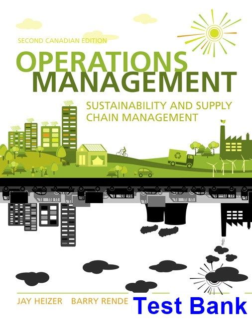43 best test bank dowload images on pinterest manual textbook and operations management sustainability and supply chain management canadian 2nd edition heizer test bank test bank fandeluxe Images