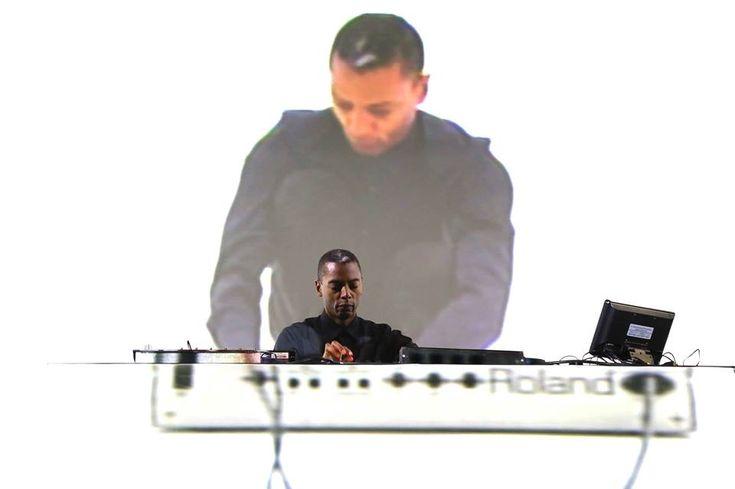 jeff mills on roland keyboard