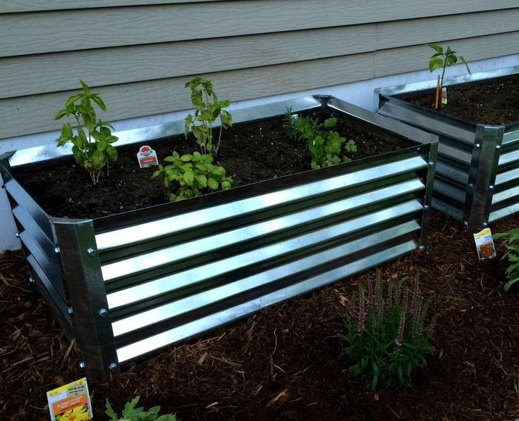 17 best images about metal garden beds on pinterest gardens raised beds and raised garden beds. Black Bedroom Furniture Sets. Home Design Ideas