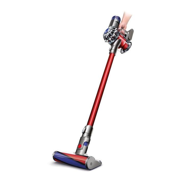 Met de V6 Total Clean snoerloze stofzuiger van Dyson is je huis in no-time schoon!