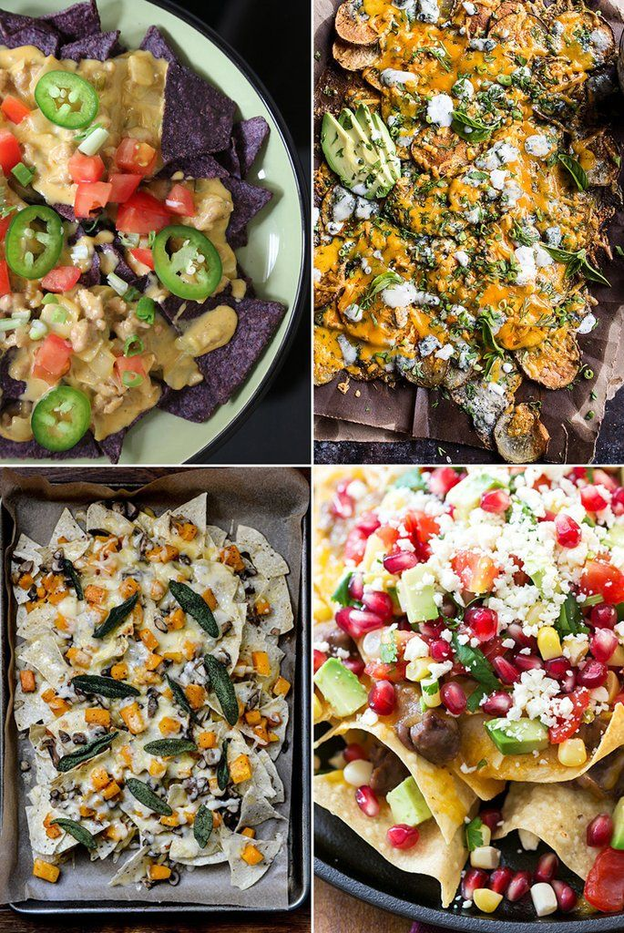 Nacho regular-type nacho recipes, for game day or any day. 30 recipes.