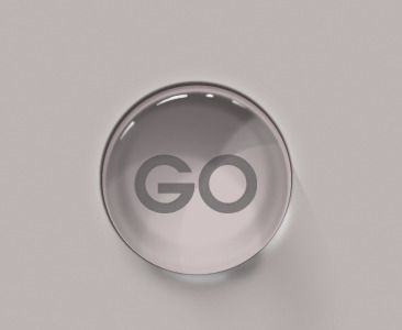 Never get enough of the Glass Shiny Button, wii inspired button by @Aviva Maltin on dribbble #UI