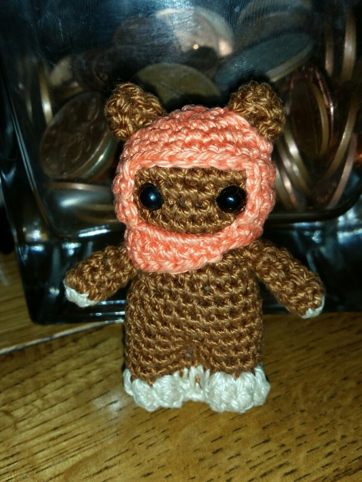 Crocheted Ewok for Peter