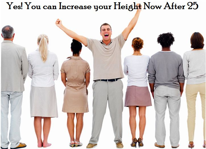 Is it Still Possible to Increase Height After 25? - Trends and Health