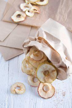 Apfelchips schnell und einfach selber machen!