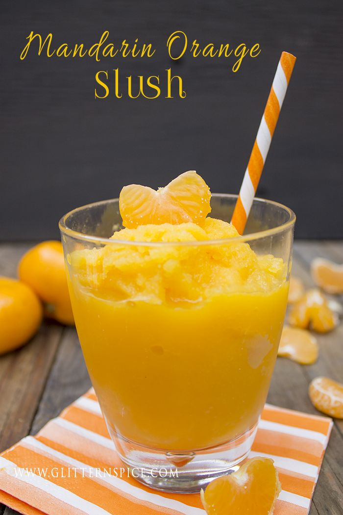 Mandarin Orange Slush   Zoku Frozen Drink Recipe