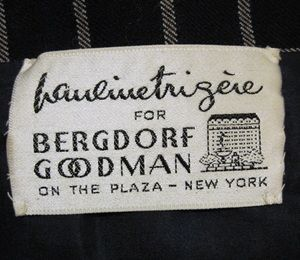 Pauline Trigere for Bergdorf Goodman Label