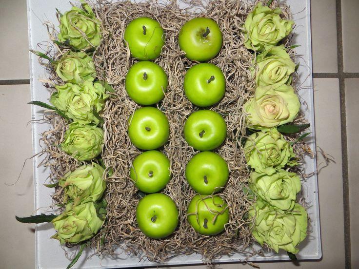 rozen en appeltjes.