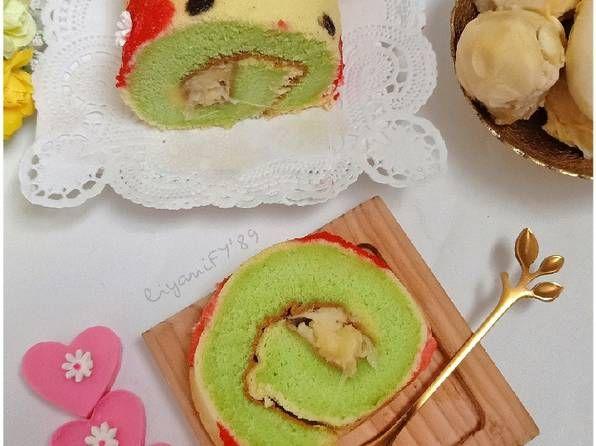Resep Pandan Roll Cake Durian Oleh Dapoer Ummu4a Liyanify Resep Kue Gulung Resep Kue