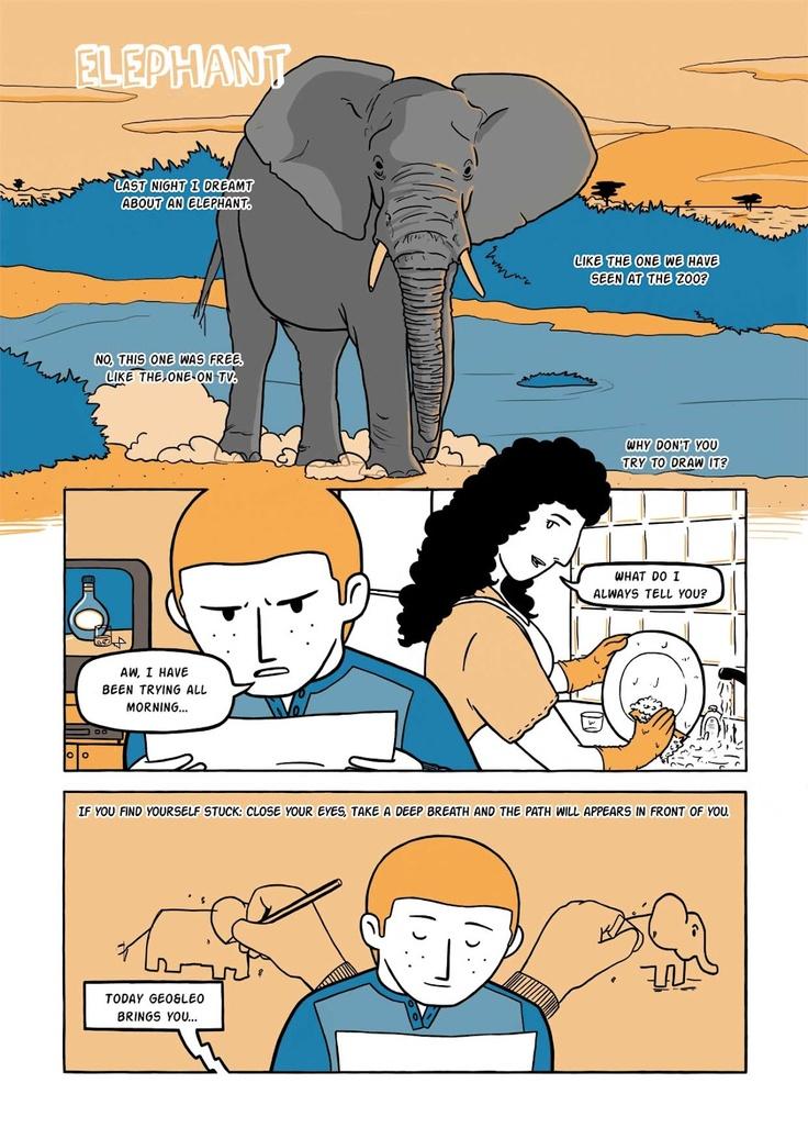 """Saluti da Oakville"": SHORT COMICS ""Elephant"""